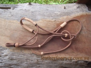 Leather Halter 003