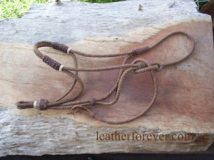 Leather Halter 010
