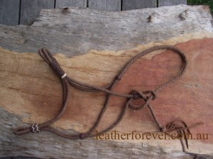 Leather Halter 029