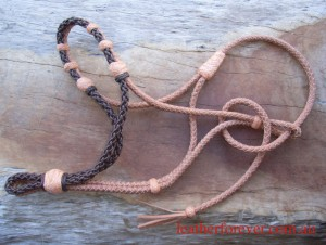 Leather Halter 036